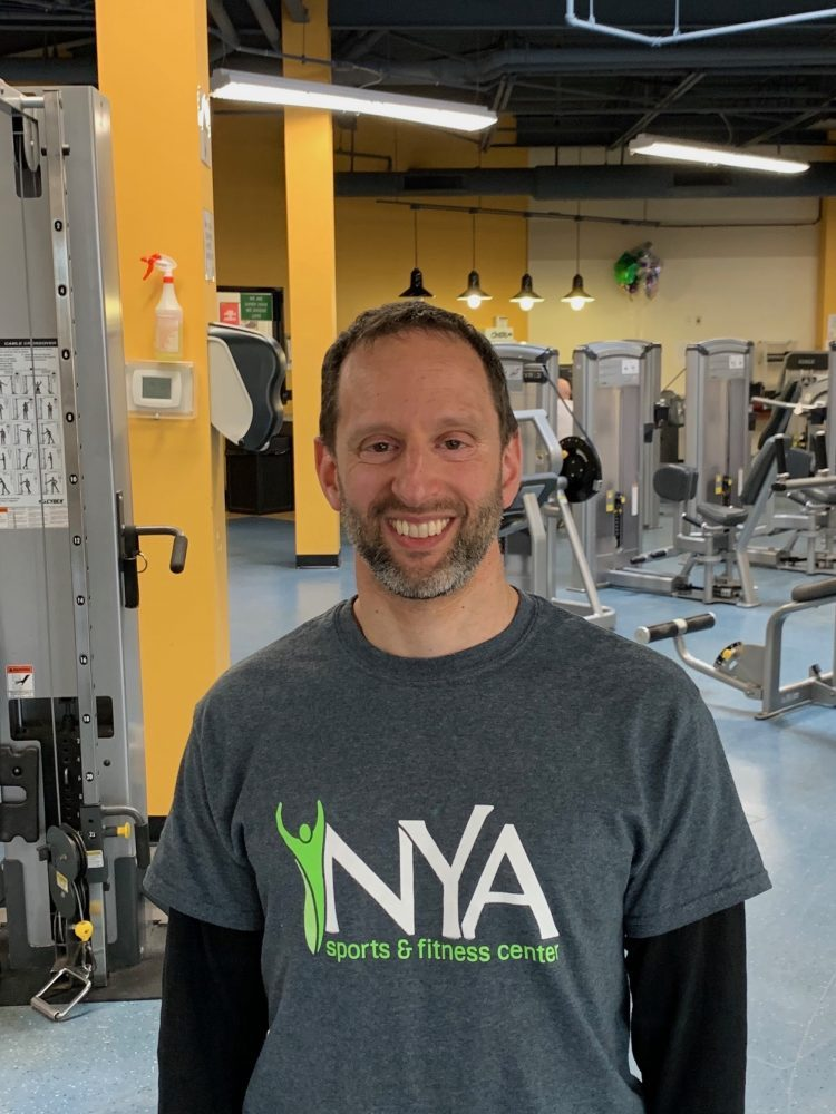 Personal trainer Mark